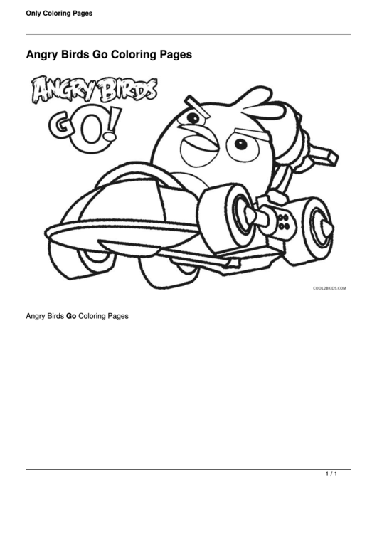 Top Angry Birds Coloring Sheets Free To Download In PDF Format