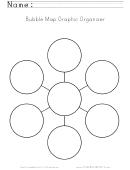 Bubble Map Graphic Organizer Template