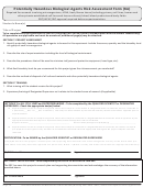 6a - Potentially Hazardous Biological Agents Risk Assessment Form