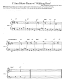 Piano Sheet Music: Walking Bass - Duke Ellington / Mr.olson