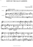 Down By The Sally Gardens - William Butler Yeats (piano Sheet Music)