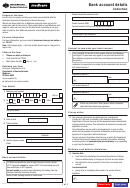 Bank Account Details Collection Form - Medicare