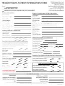Tricare Travel Patient Information Form