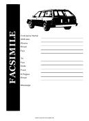 Facsimile Template - Car