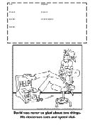 Help - Fax Cover Sheet