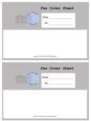 Grey Envelope - Fax Cover Sheet