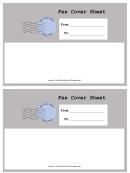 Grey Envelope - Fax Cover Sheet