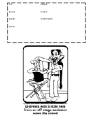 Fax Cover Sheet - Black And White (with Illustration)