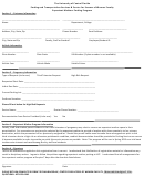 Expectant Mothers Parking Program Application Form - The University Of Central Florida, Parking And Transportation Services & Center For Success Of Women Faculty