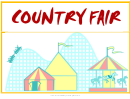 Country Fair Flyer Template