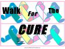 Aids Walk Flyer Template