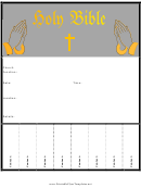 Church Function Flyer Template