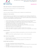 Job Description Template - Pediatric Physical Therapist