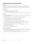 Surgical Technician Traveler Job Description