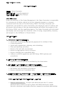 Camp Counselor Job Description Template