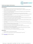 Textile Process Engineer Job Description