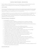 Assistant Finance Manager Job Description