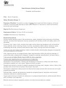 Senior Carpenter Job Description Template