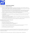 Job Description: Quality Control/inspector