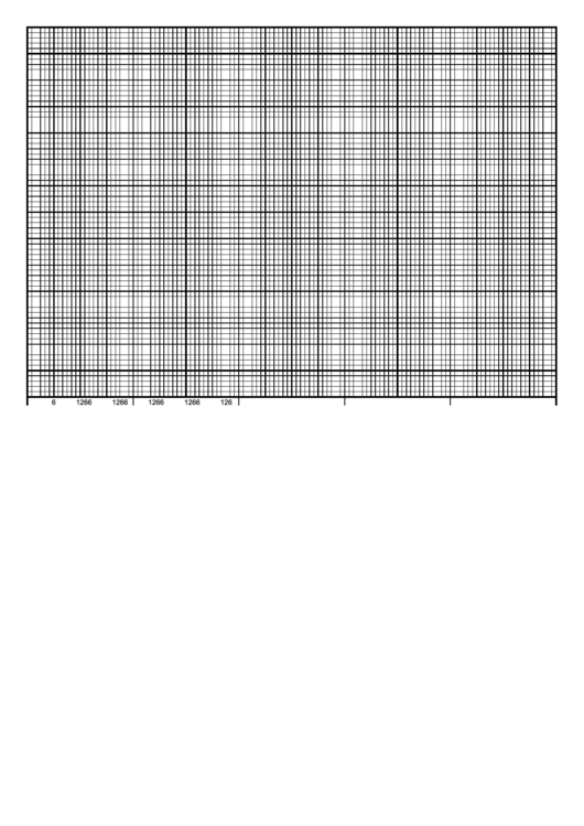 Graph Paper Template - Calendar 5 Days By Hour 70 Divisions Printable pdf