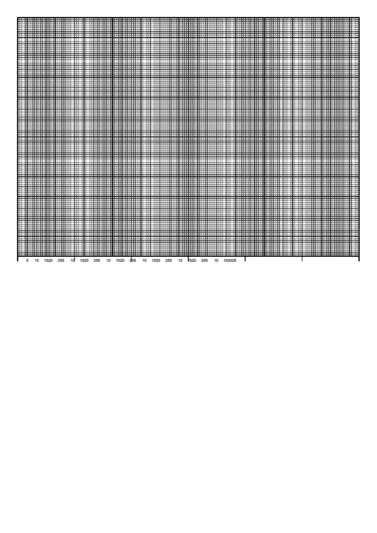 Graph Paper - 6 Months By Days, 120 Divisions Printable pdf