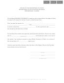 Sworn Statement - Springfield, Illinois