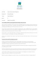 Senior Structural Civil Engineer Job Description Template