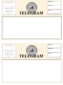 Telegram Template - 2 Per Page