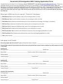 Genetrack Us Immigration Dna Testing Application Form