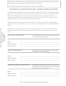Confidential Client Questionnaire - General Power Of Attorney