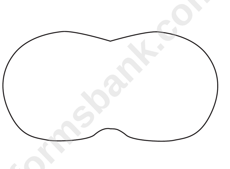 Sleep Mask Template