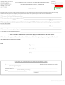 Statement Of Change Of Registered Office Or Registered Agent, Or Both - South Dakota Secretary Of State