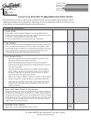 Sales Tax Return Worksheet