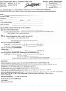 Special Event Tax Return Form