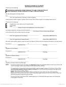 Affidavit Of Inability To Appear And Request For Issuance Of A Confidential Marriage License Pursuant To Family Code Section 502/public Marriage License Pursuant To Family Code Section 426