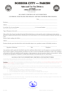 Blanket Certificate Of Exemption Covering Purchases For Resale Or For Further Processing Template