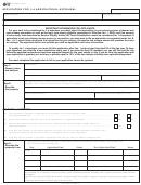 Form 50-165 - Application For 1-d Agricultural Appraisal