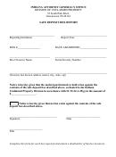 Safe Deposit Box Report Template Indiana