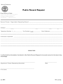 Ss-6075 - Public Record Request - Tennessee
