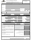 Business License Application Form - City Of Moreno Valley