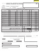 Schedule Ge Form G-45/g-49 (rev. 2006) - General Excise/use Tax ...