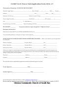 Cccsb T.g.i.f. Power Club Application Form