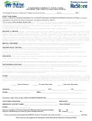 Volunteer Application Form - Bend Area Habitat For Humanity Office