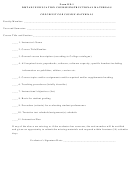 Course Materials Checklist Template