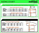 Brisbane Marathon Festival Clothing Sizing Chart