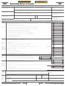 Form 565 - Partnership Return Of Income - 2007