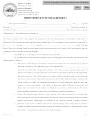 Form Sr-4 - Impoundment Of Funds Agreement