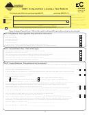 Form Clt-4 2005 Corporation License Tax Return - Montana