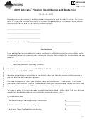 Form Vt - 2005 Veterans' Program Contribution And Deduction