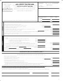 Net Profit Tax Return Form - City Of Stow, Ohio - 2008
